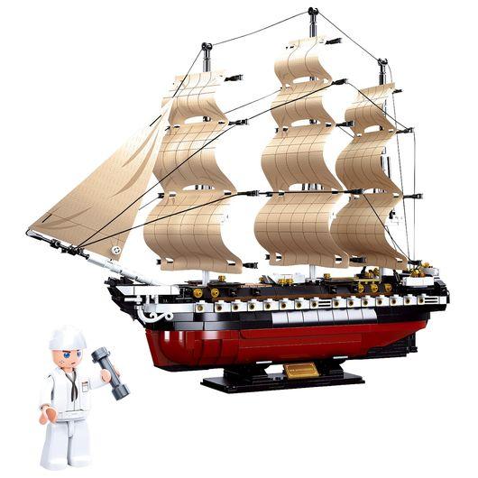 Sluban - Modelbricks - USS Constitution 1118 dele