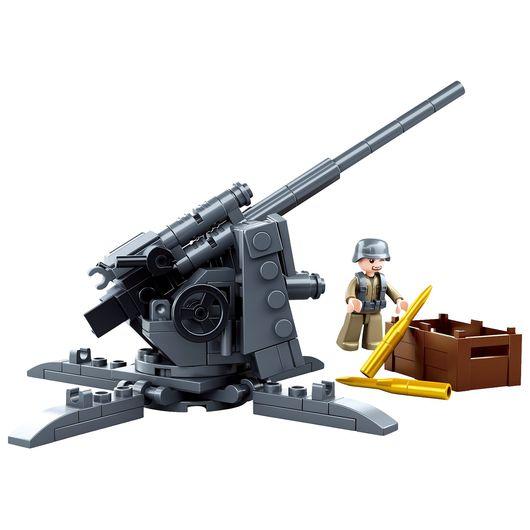 Sluban - Army - German Flak Anti-Tank Gun 115 dele
