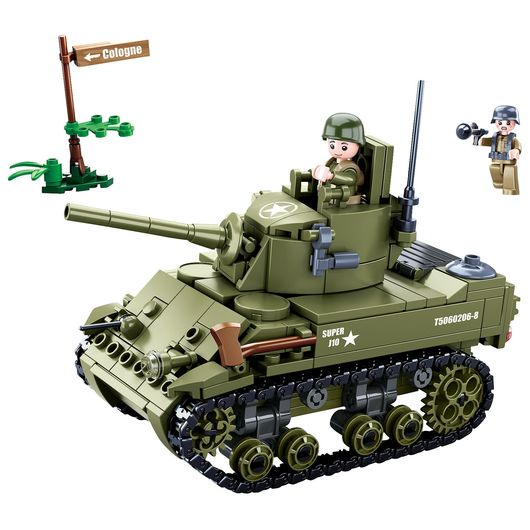 Sluban - Army - M5 Light Tank 344 dele