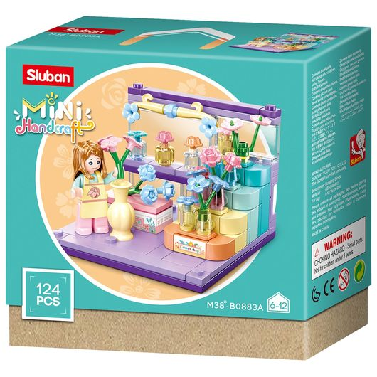 Sluban - Mini Handcraft - assorterede modeller