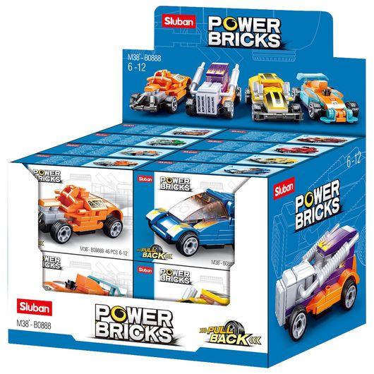Bil med tilbagetræk - assorterede modeller
