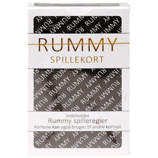 Rummy/Black Jack spillekort - assorterede