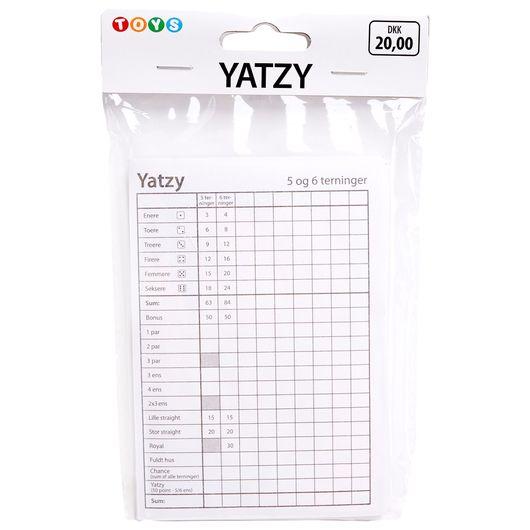Yatzyblokke 3-pak