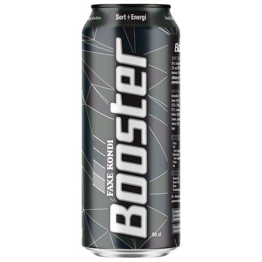 Booster sort energi 50cl