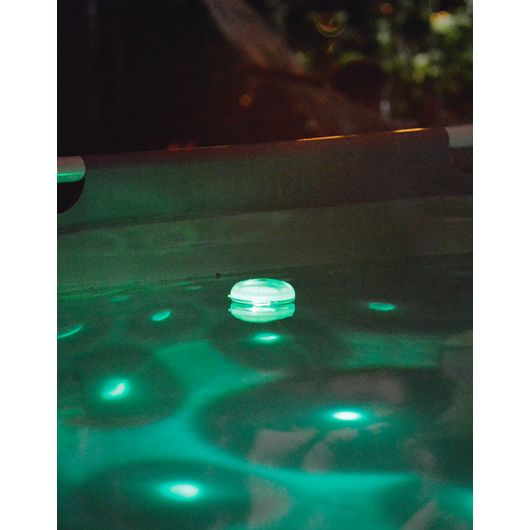 LED-lampe til spa og pool Ø. 8 cm