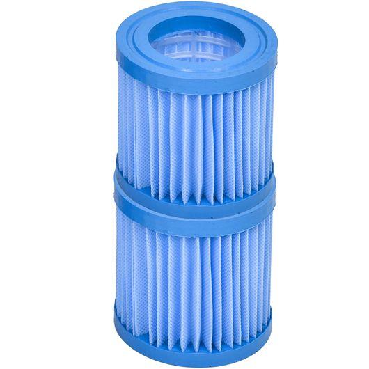 Filter til poolpumpe antimikrobiel 2-pak