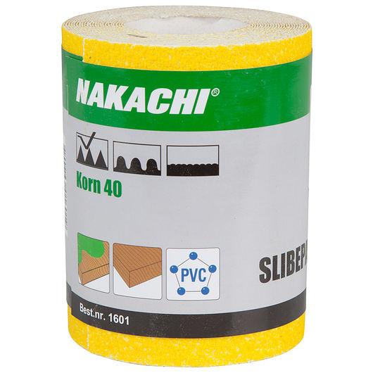 Nakachi slibepapir 115 mm x 5 m K40
