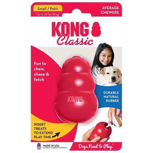 Kong Classic - Hundelegetøj - small