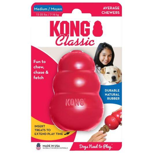 Kong Classic - Hundelegetøj - medium