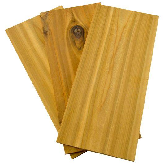 Grillplanke cedertræ 3-pak