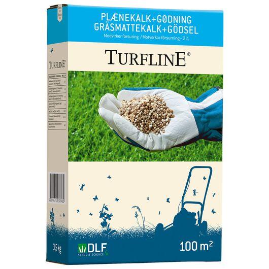 Turfline Plænekalk + gødning - 3,5 kg