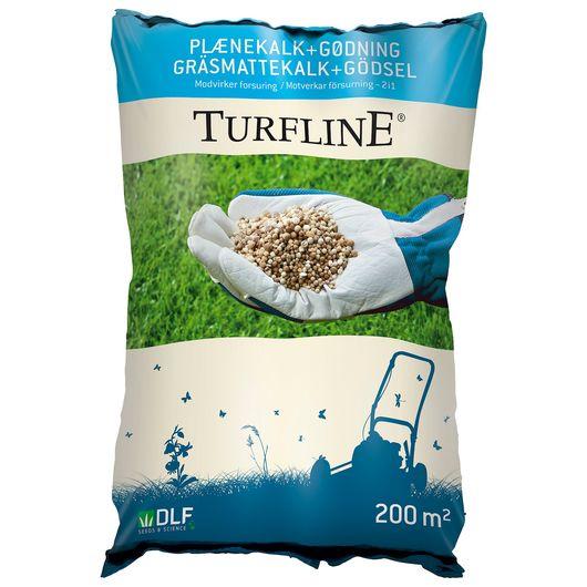 Turfline - Plænekalk + gødning - 7,5 kg