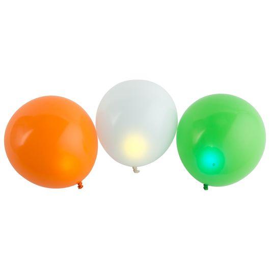 LED-ballon 3-pak - assorterede farver