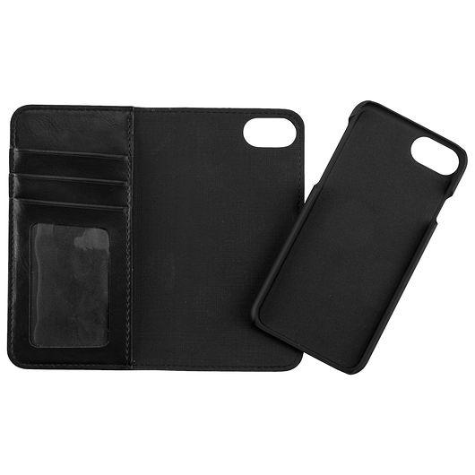 Stevison - 2-i-1-etui til iPhone 6, 7 og 8 sort