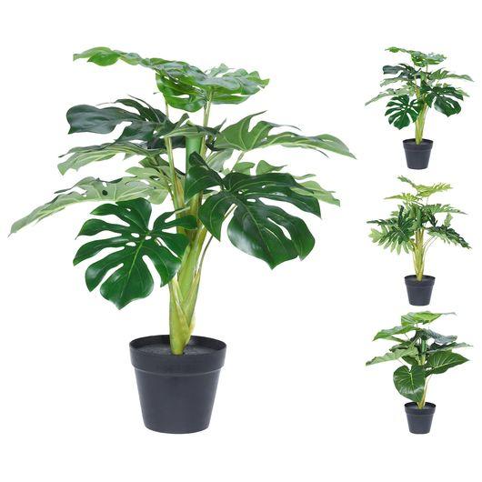 Kunstig plante monstera - ass. udgave