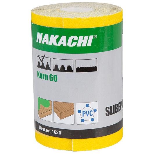 Nakachi - Slibepapir 115 mm x 5 m K60