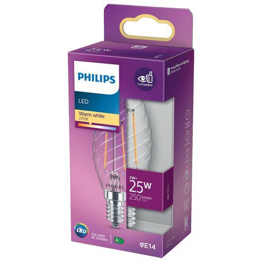Philips LED-filamentpære 2W E14 ST35