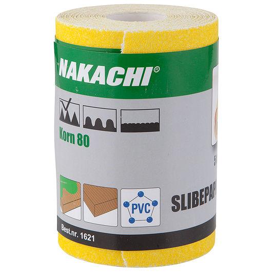 Nakachi - Slibepapir 115 mm x 5 m K80