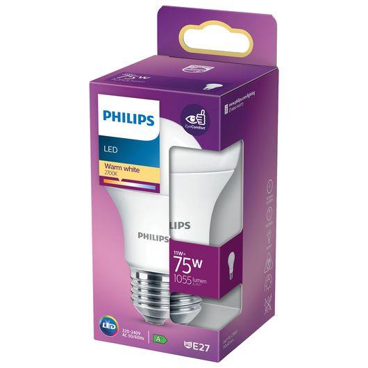 Philips - LED-pære 11W E27 A60
