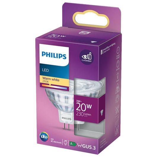 Philips spotpære 3W GU5.3 MR16