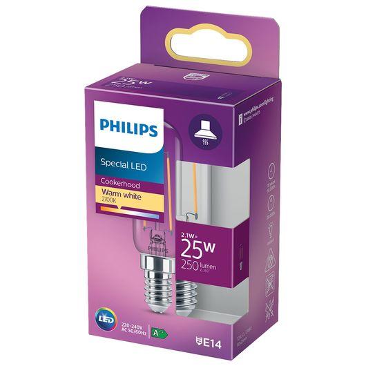 Philips LED-emhættepære 2,1W T25L