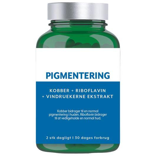 Kosttilskud - Pigmentering 60-pak