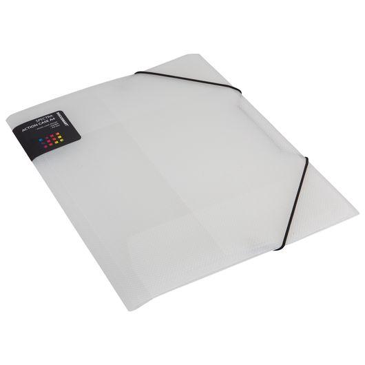 Elastikmappe plast A4 - Transperant
