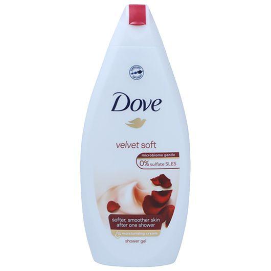 Dove Shower Gel - Velvet Soft 500 ml