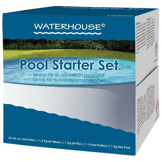 Waterhouse - Startpakke med klor til pool