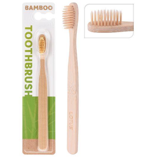Tandbørste i bambus