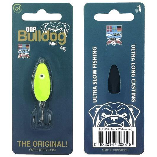 OGP Bulldog mini blink 4 g - sort/gul
