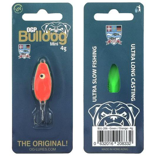OGP Bulldog mini blink 4 g - grøn/orange