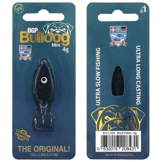 OGP Bulldog mini blink 4 g - black pellet