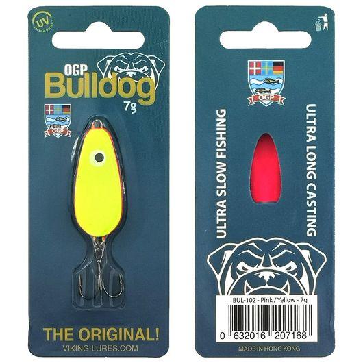 OGP Bulldog blink 7 g - pink/gul
