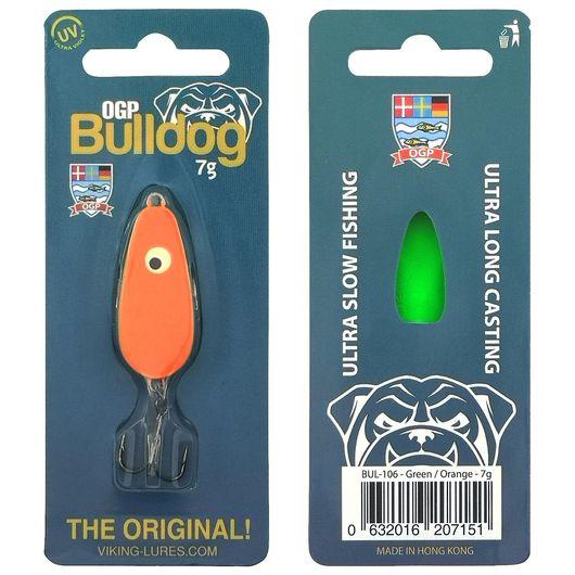 OGP Bulldog blink 7 g - grøn/orange