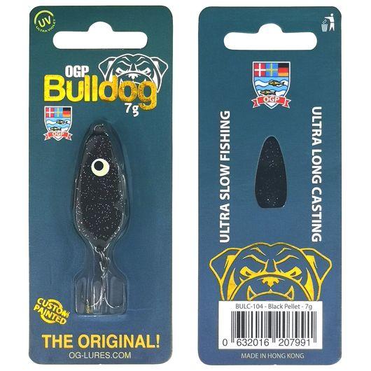 OGP Bulldog blink 7 g - black pellet