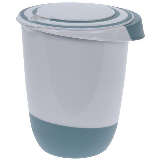Røreskål med låg 1,5 liter - assorterede farver