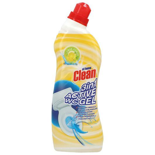 At Home Clean toiletrens 3-i-1 750 ml - Lemon