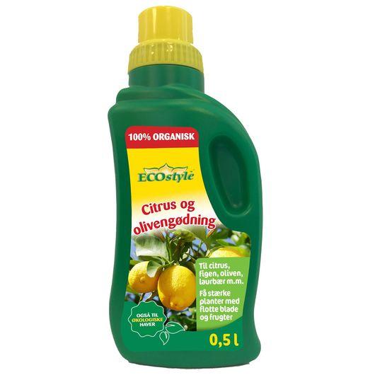 ECOstyle - Citrus- og olivengødning 500 ml