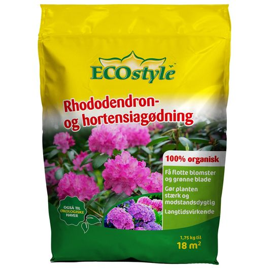 ECOstyle rhododendron- og hortensiagødning 1,75 kg