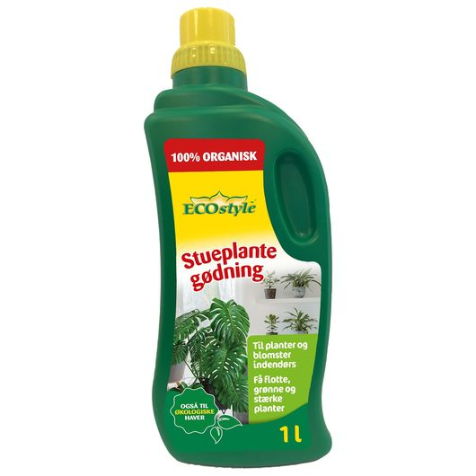 ECOstyle - Stueplantegødning 1 liter