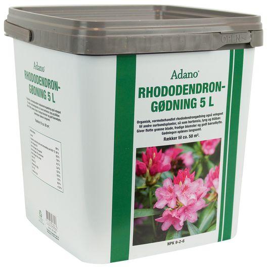 Adano organisk rhododendrongødning - 5 L