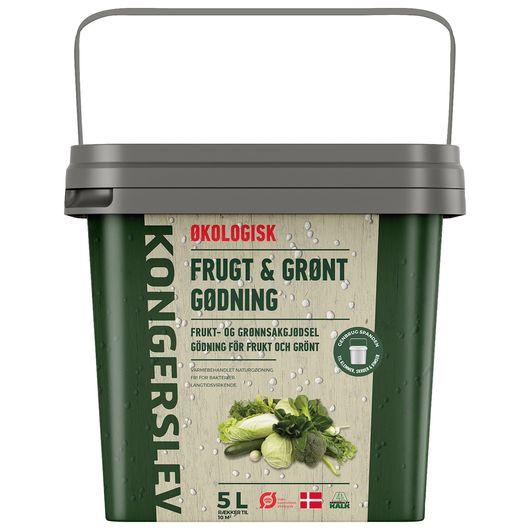Kongerslev frugt- og grøntgødning - 5 liter