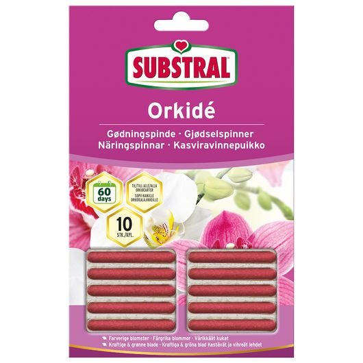 Substral Gødningspinde - Orkidé 10-pak
