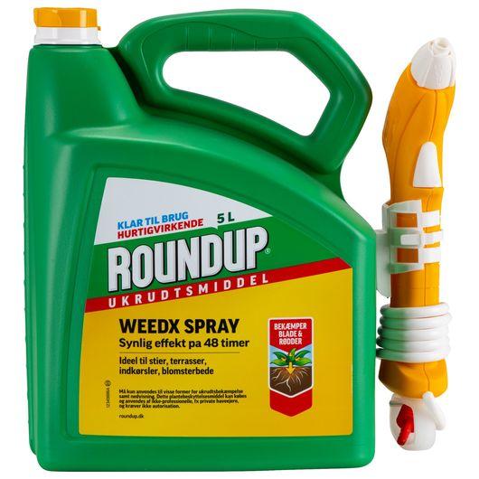 Roundup ukrudtsmiddel spray - 5 liter