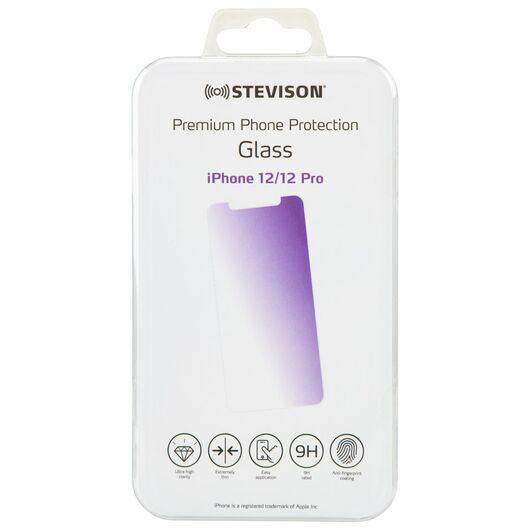 STEVISON - Hærdet glas til iPhone 12 og 12 Pro