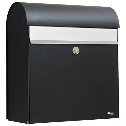 Allux - Postkasse model 380 - sort