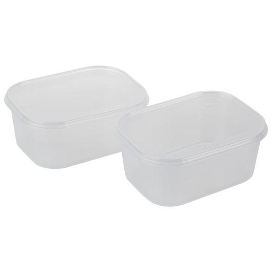 Plast Team - Helsinki fryseboks 1,4 liter -  2-pak