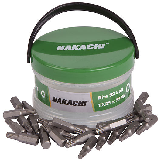 Nakachi bits TX25 25 mm 25-pak