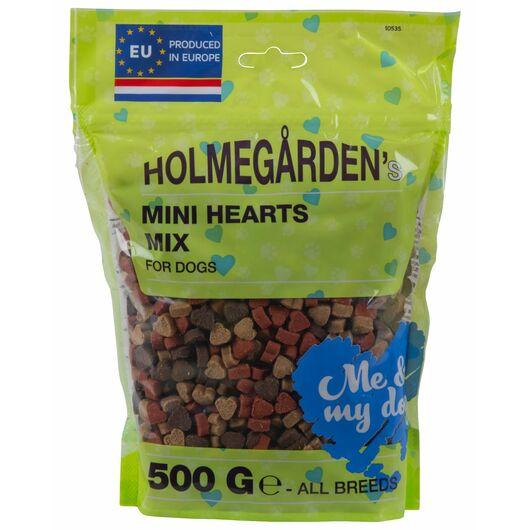 Holmegården godbidder Mini Hearts Mix - 500 g